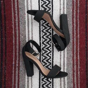 Call it spring open toe heels